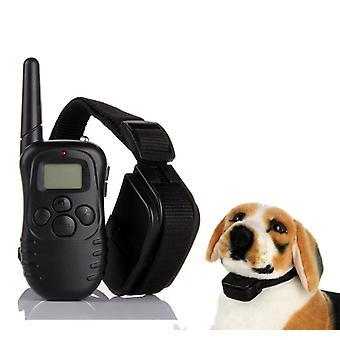 Hondentrainingshalsband, anti blafhalsband, hondenhalsband handmatig controlebereik 300 meter