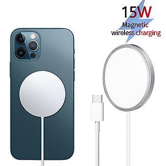 15w Chargeur sans fil magnétique Qi Chargeur rapide Qi Chargeur sans fil