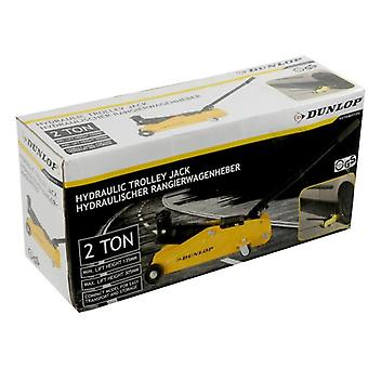 Dunlop 2000kg Capacity Car Vehicle Hydraulic Trolley jack Professional