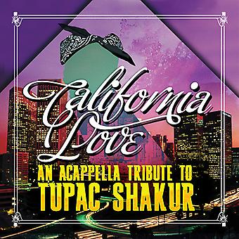 Amor California - Acappella homenaje a importar de Estados Unidos Tupac Shakur [CD]