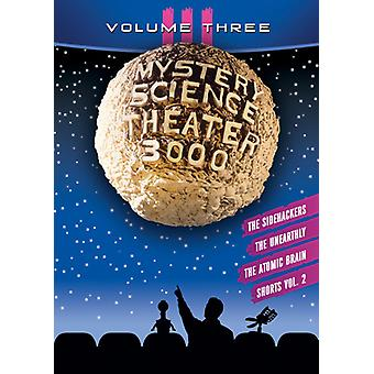 Mystery Science Theater 3000: Iii [DVD] USA import