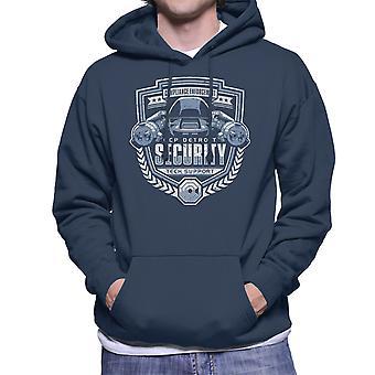 Compliance Enforcement RoboCop Men's Hooded Sweatshirt