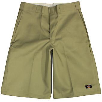 Dickies Men's 13 Inch Loose Fit Multi-Pocket Work Short Khaki