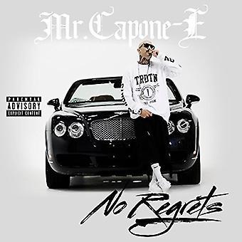 Mr. Capone E - importation USA No Regrets [CD]