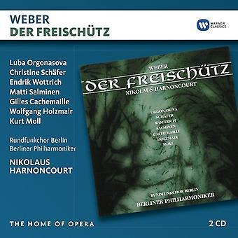Weber / Harnoncourt, Nikolaus - Der Freischutz [CD] USA import