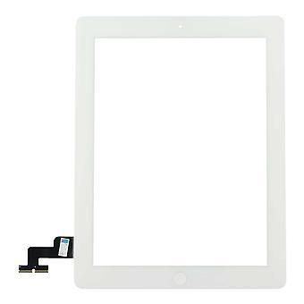 iPad 2 Bildschirm Digitizer Touchscreen komplett mit weißem Rand