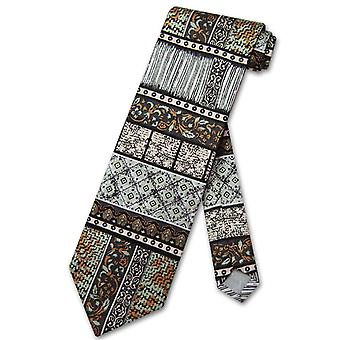 Antonio Ricci SILK NeckTie Made in ITALY Geometric Design Men's Neck Tie #3106-3