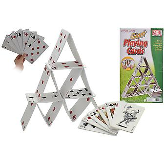 M.Y гигант 54pc Сад игры Ева игральных карт в цвете коробки наружной Fun