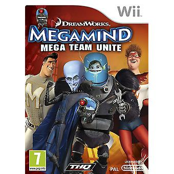 Dreamworks Megamind Mega Team Unite Nintendo Wii Game