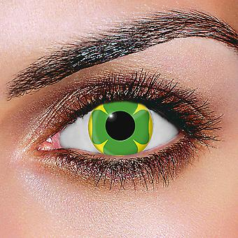 Lucky Clover Contact Lenses (Pair)