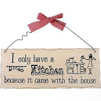Jotain muuta minulla on vain keittiö roikkuu merkki