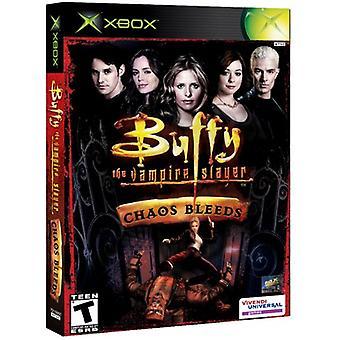 Buffy The Vampire Slayer Chaos Bleeds (Xbox) - New