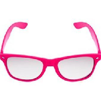 Roze Neon duidelijk Lense Wayfarer bril