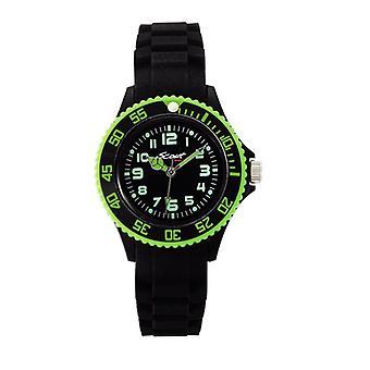 Scout enfant montre silicone montre cool sportif noir garçons garçons Watch 280303000