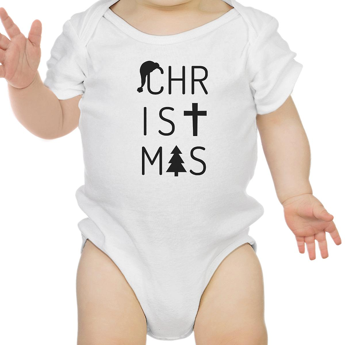 Letters Christmas Baby Bodysuit Cute Holiday Gifts For New Parents