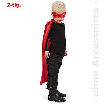Super-herói traje bandido herói cômico cabo herói crianças cabo