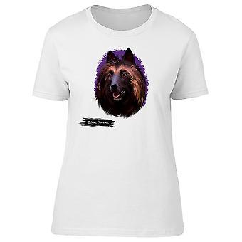 Tervuren belga Dog t-shirt donna-immagine di Shutterstock