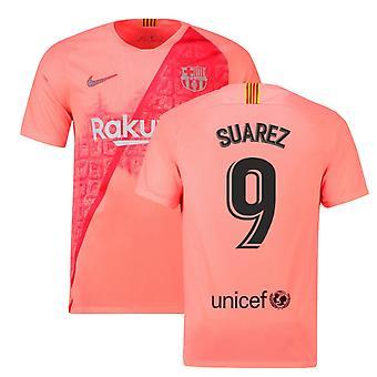 2018-2019 Barcelona trzeci koszulka piłkarska Nike (Suarez. 9)