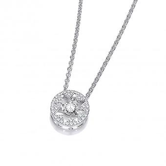 Cavendish French Dancing Cubic Zirconia Star Necklace