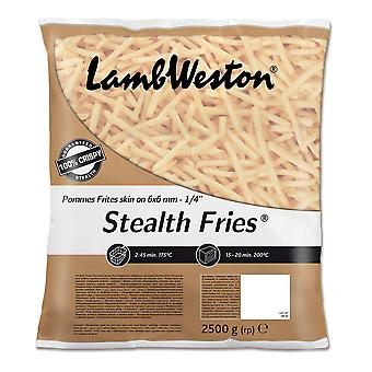 Lamb Weston Frozen Skin On Stealth Fries 6/6