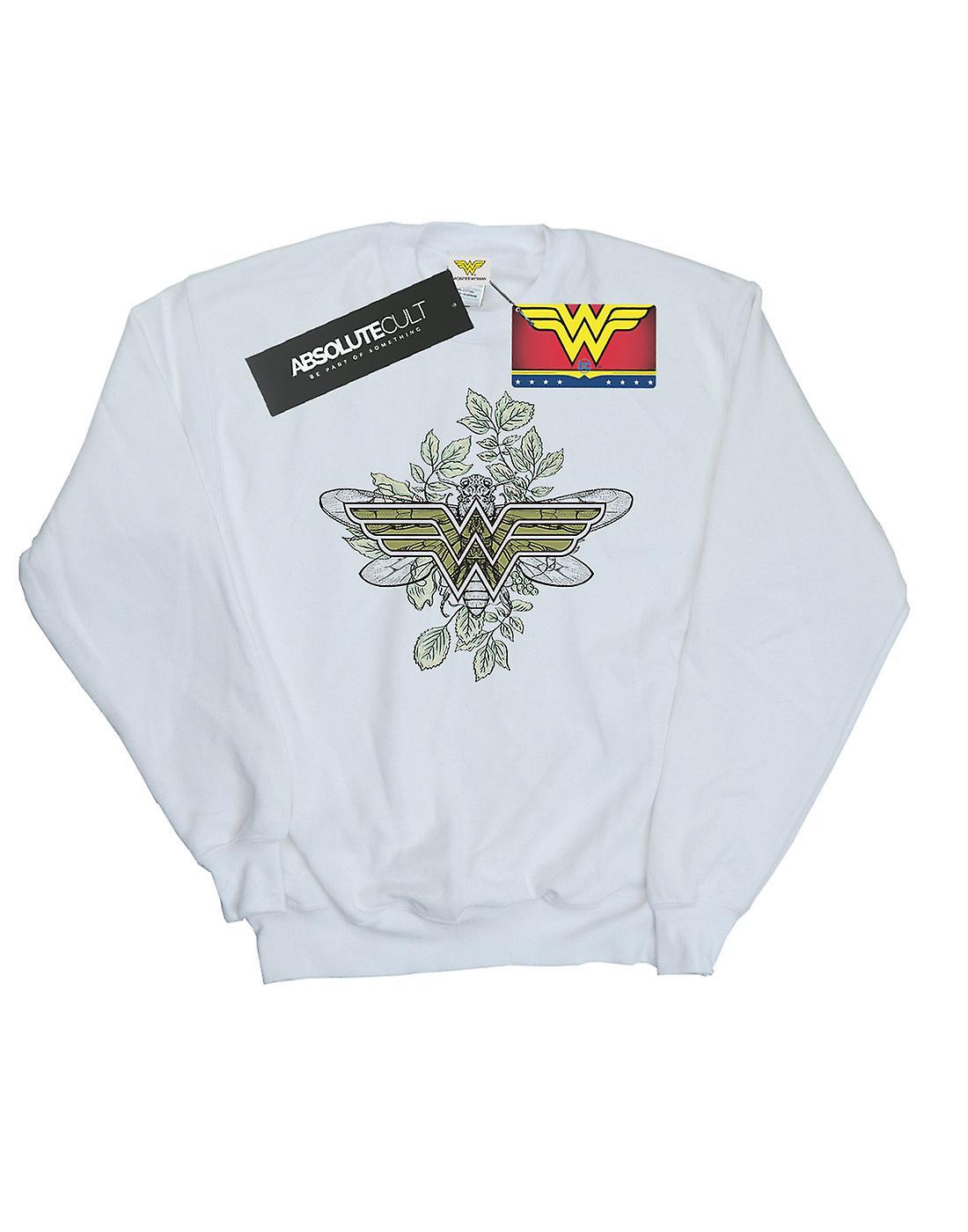 DC Comics Men's Wonder Woman Butterfly Logo Sweatshirt