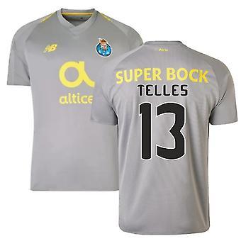 2018-19 Porto borte fotball skjorte (Telles 13)