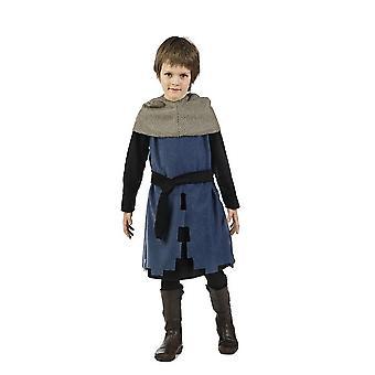 Joven caballero Harald traje traje de niño de combatiente de la espada