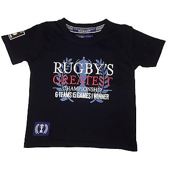 Guinness 6 Nations Rugby Kids Greatest Championship T-shirt