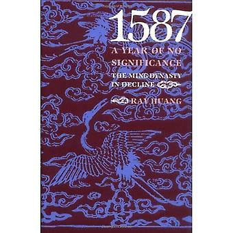 1587, un anno di alcun significato: Dynasty del Ming in declino
