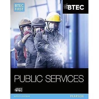 BTEC första i offentliga tjänster: Student Book (BTEC första offentliga tjänster 2014)