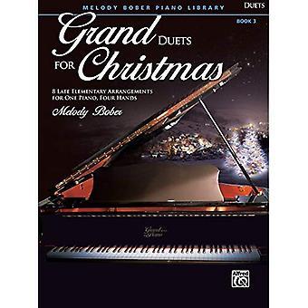 Grand duetter för jul, Bk 3:8 sen elementära arrangemang för ett Piano, fyra händer (Grand duetter för Piano)