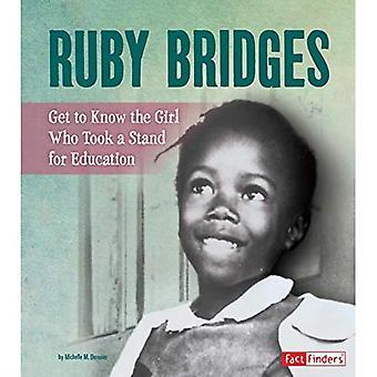 Ruby bruggen: Kennismaking met het meisje nam een staan voor onderwijs (mensen die je moet weten)