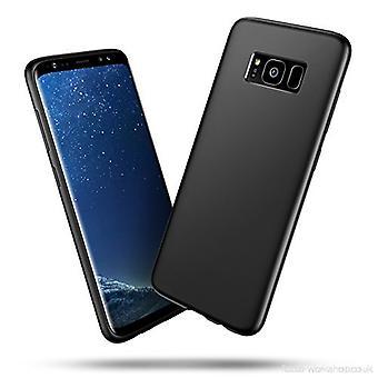 Weiches schwarzes Gehäuse Samsung Galaxy S8+