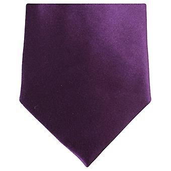 Knightsbridge Neckwear Regular Polyester Tie - Deep Purple