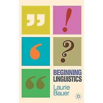 Anfang Linguistik von Bauer & Laurie