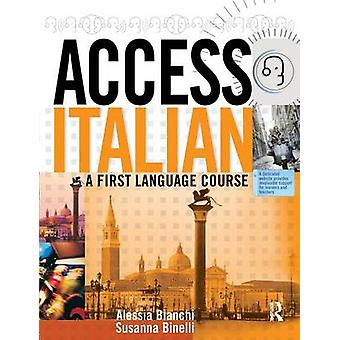 Access Italian Student Book by Binelli & Susanna