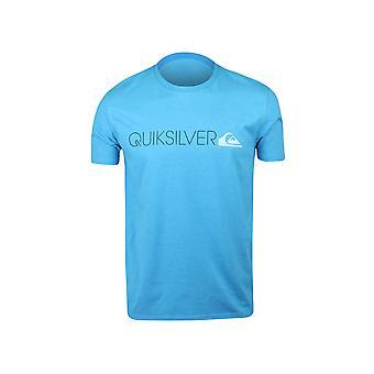 Quiksilver Mens Transit Lane T-Shirt - Aqua Heather