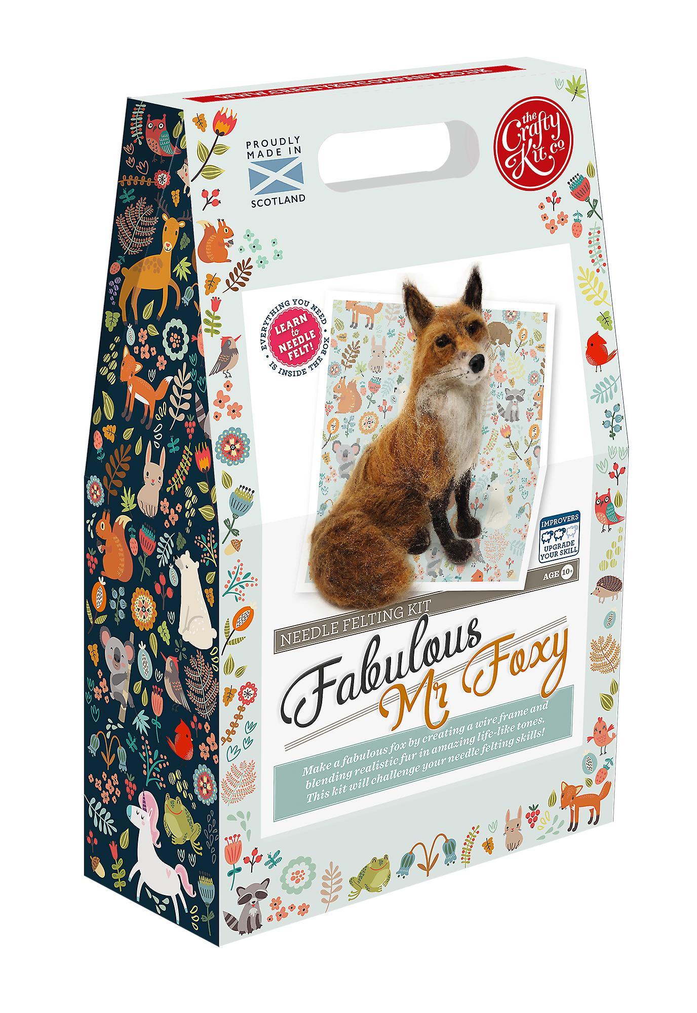 Fabulous Mr Foxy Needle Felting Kit