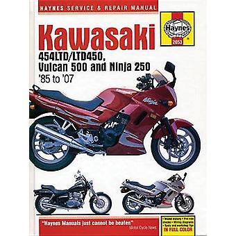 Kawasaki 454 Ltd - Vulcan 500 & Ninja 250 (85 -07) by Haynes Publ