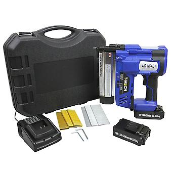 2 in 1 Nail & Staple Gun Cordless Heavy Duty Nailer Staper / Additional Battery