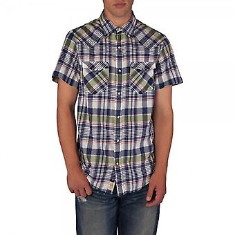 Ralph Lauren-Denim & Supply manica corta Madras Western check camicia (Hadley plaid)