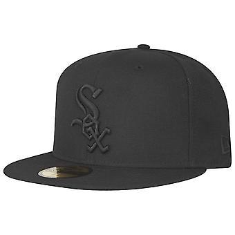 ニューエラ 59フィフティ キャップ - MLB ブラック シカゴ ホワイトソックス