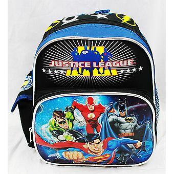 Mini Backpack - DC Comic - Justice League - Team New School Bag a01428