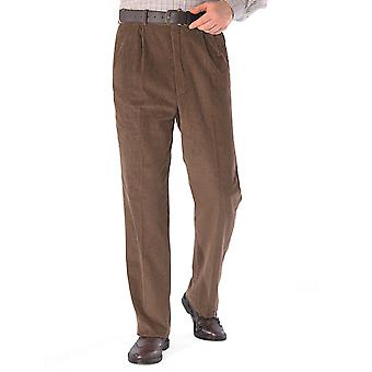 Chums Chums HIGH-RISE Trousers Luxury Cotton Corduroy