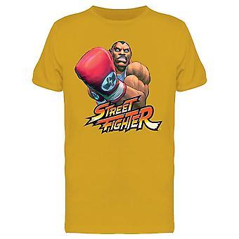 Street Figher Balrog tee menn ' s-Capcom Designs