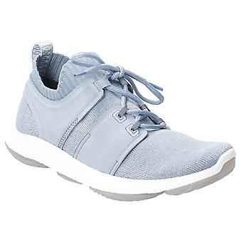 Hush Welpen Womens World BounceMax Lace Up Trainer Dusty Blue