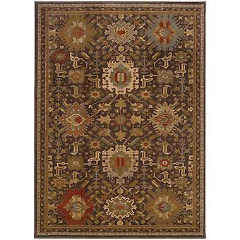 Casablanca 4444a brown/multi indoor area rug rectangle 7'10