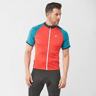Nya vågar 2b män ' s exakt cykling full zip Jersey orange