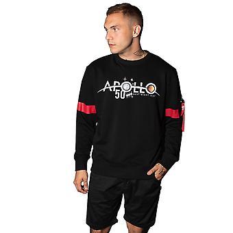 Alpha Industries Men's Sweatshirt Apollo 50 Reflective
