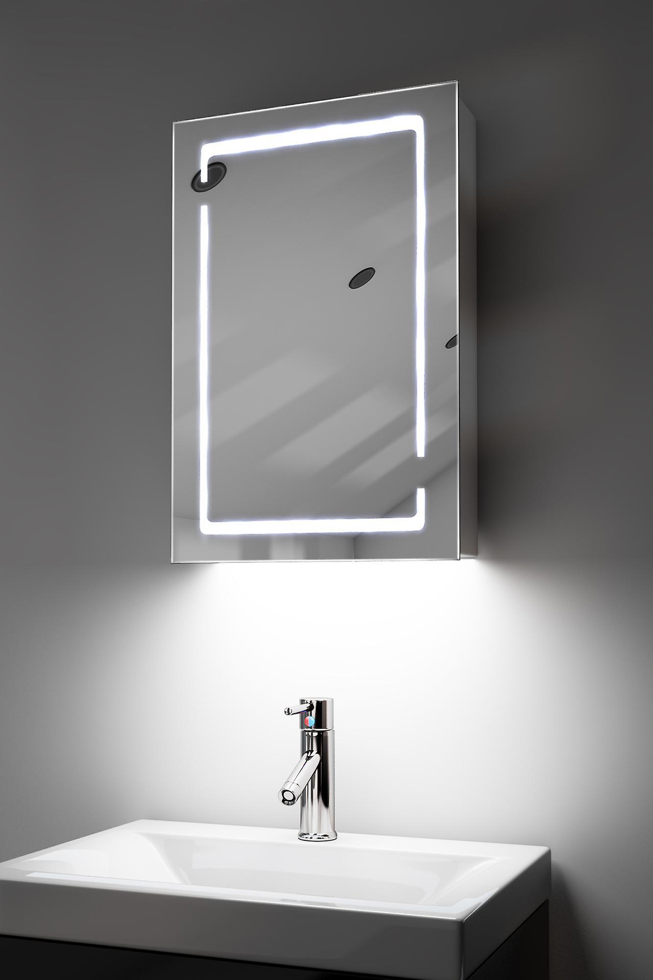 Demist Cabinet With RGB , Sensor & Internal Shaver k350rgb
